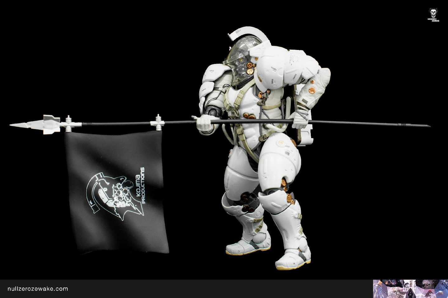 review figma Ludens Kojima Productions EX-044 actions with spear flag