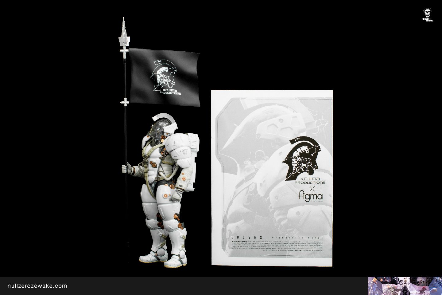 review figma Ludens Kojima Productions EX-044 booklet