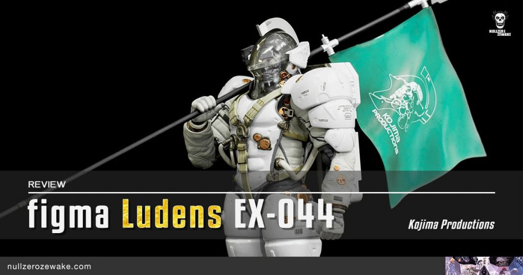 review figma Ludens Kojima Productions EX-044 cover