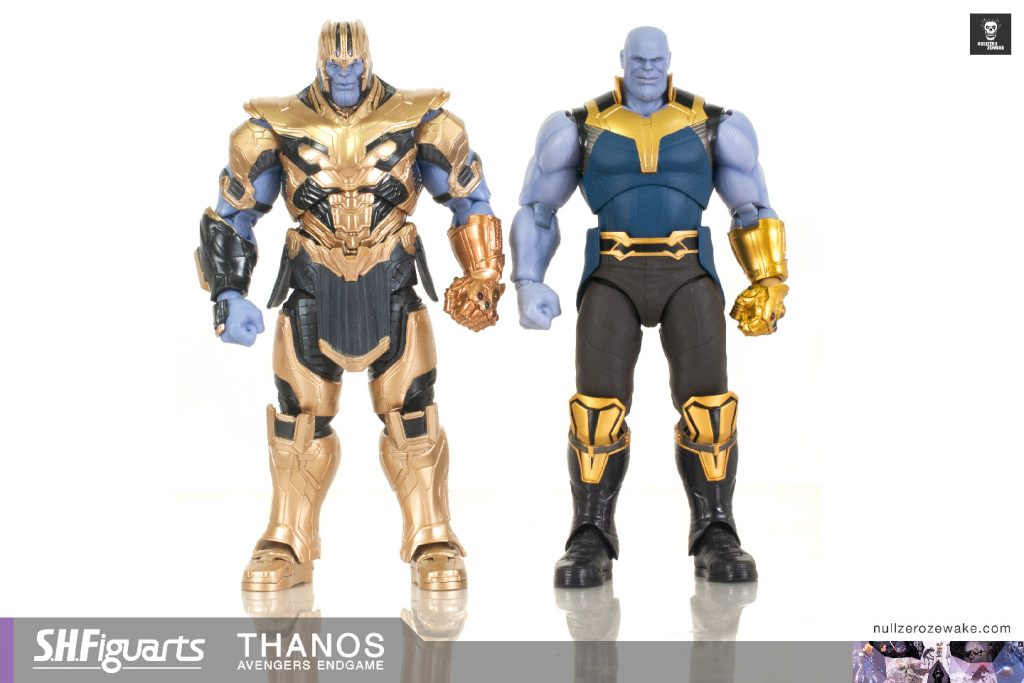 review s.h.figuarts Thanos avengers endgame compare