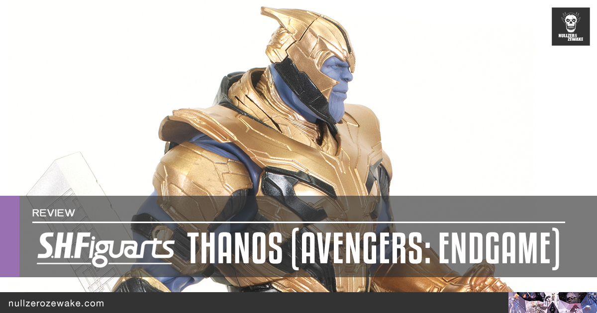 review s.h.figuarts Thanos avengers endgame featured image