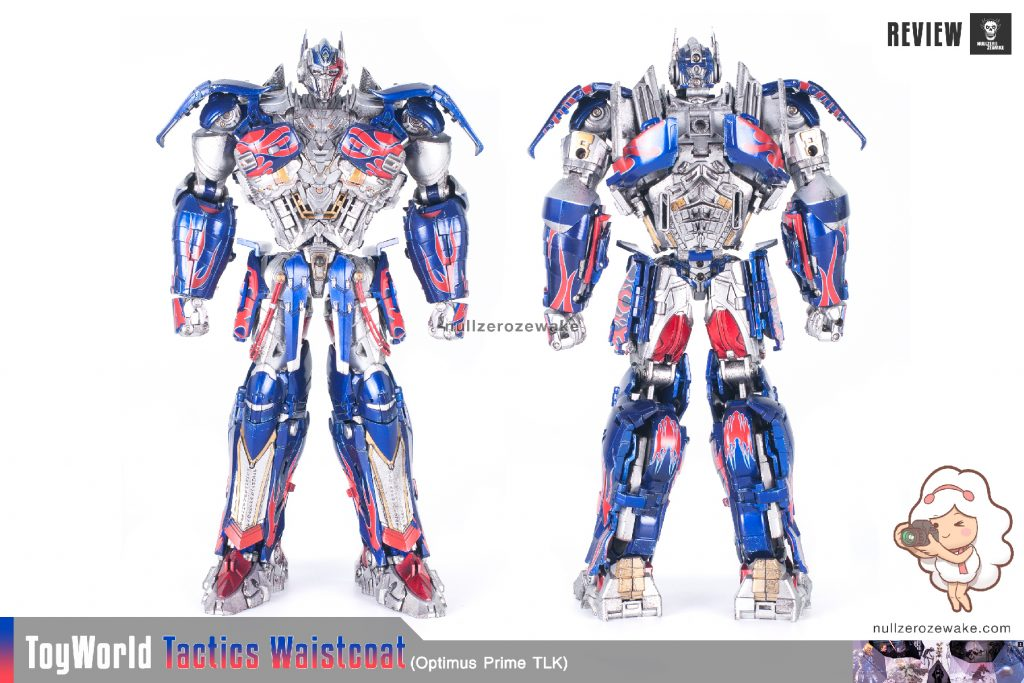 ToyWorld OptimusPrime Tactics Waistcoat TW-F01 review image 01