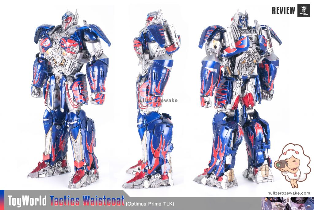 ToyWorld OptimusPrime Tactics Waistcoat TW-F01 review image 02