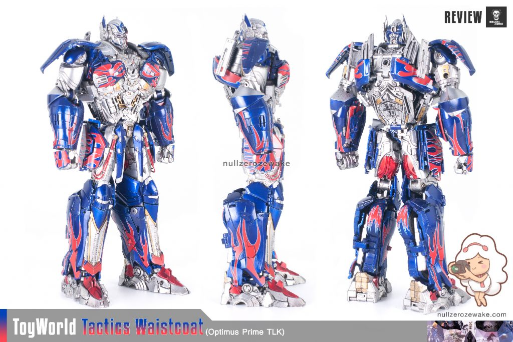 ToyWorld OptimusPrime Tactics Waistcoat TW-F01 review image 03