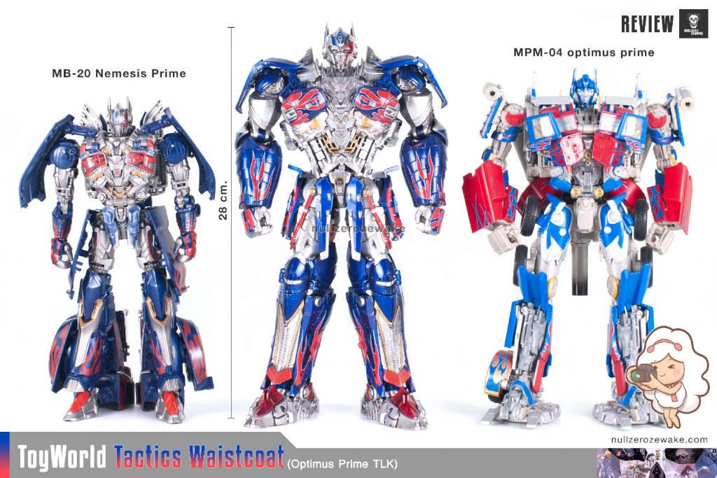 ToyWorld OptimusPrime Tactics Waistcoat TW-F01 review image 04