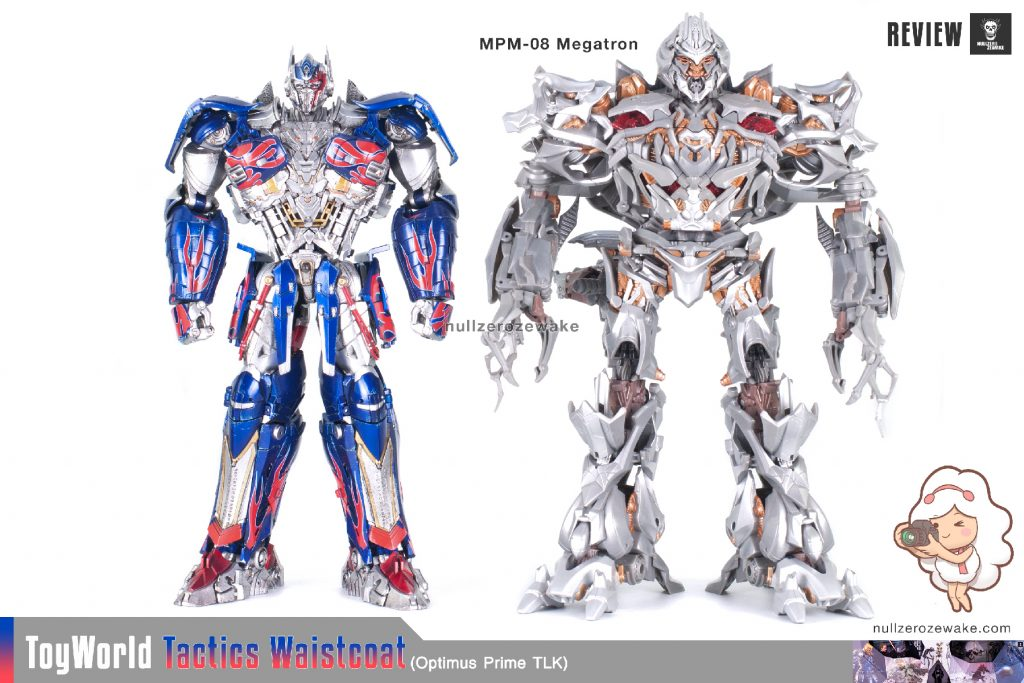 ToyWorld OptimusPrime Tactics Waistcoat TW-F01 review image 05