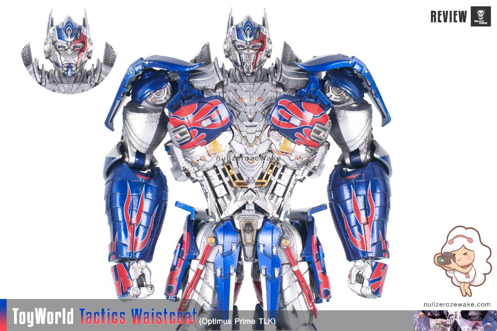 ToyWorld OptimusPrime Tactics Waistcoat TW-F01 review image 06