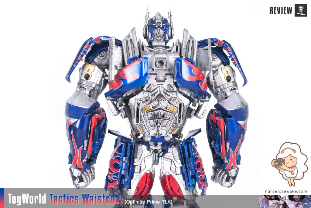 ToyWorld OptimusPrime Tactics Waistcoat TW-F01 review image 08