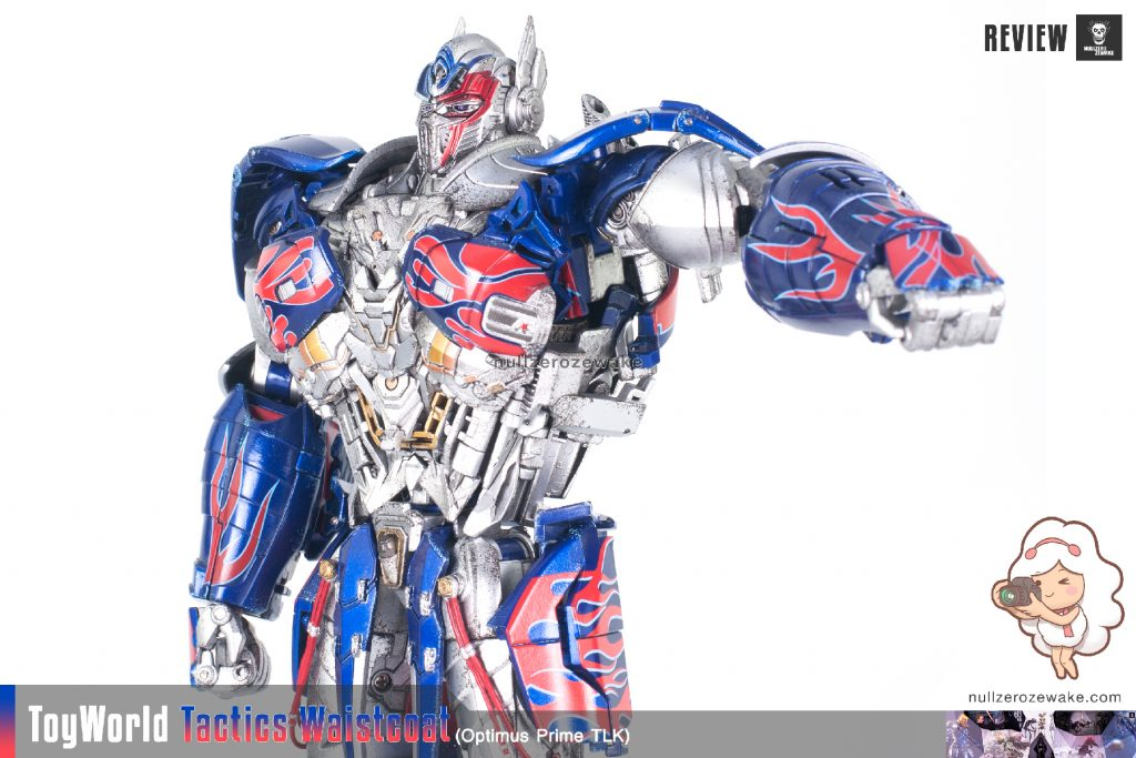 ToyWorld OptimusPrime Tactics Waistcoat TW-F01 review image 09