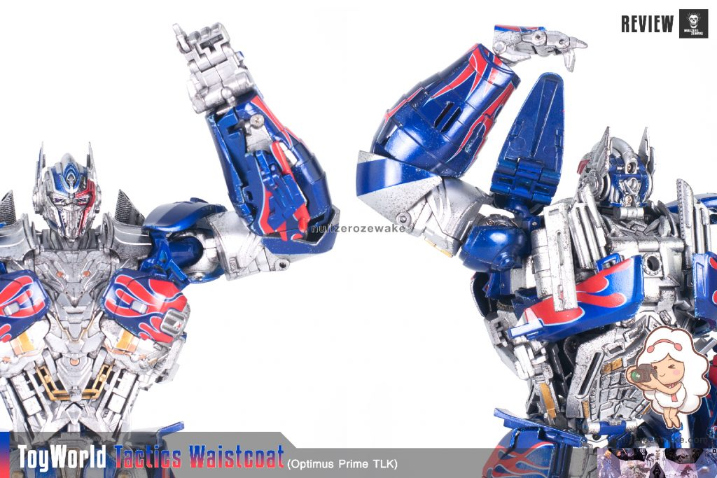ToyWorld OptimusPrime Tactics Waistcoat TW-F01 review image 10