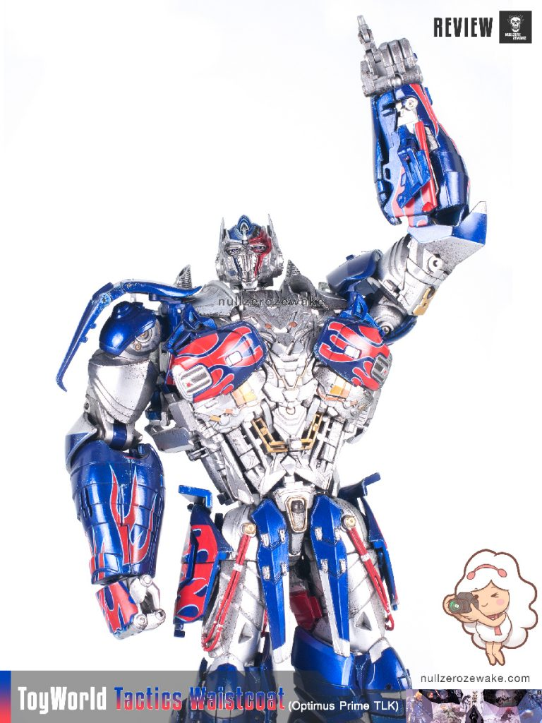 ToyWorld OptimusPrime Tactics Waistcoat TW-F01 review image 11
