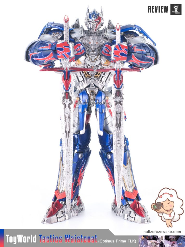 ToyWorld OptimusPrime Tactics Waistcoat TW-F01 review image 16