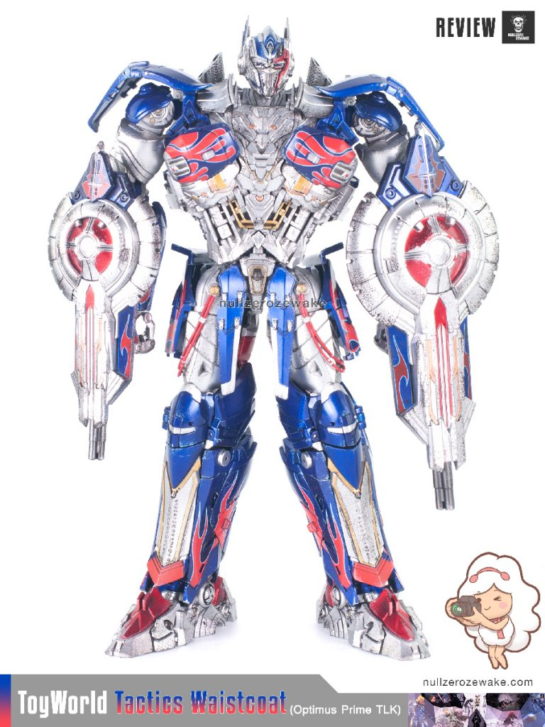 ToyWorld OptimusPrime Tactics Waistcoat TW-F01 review image 17