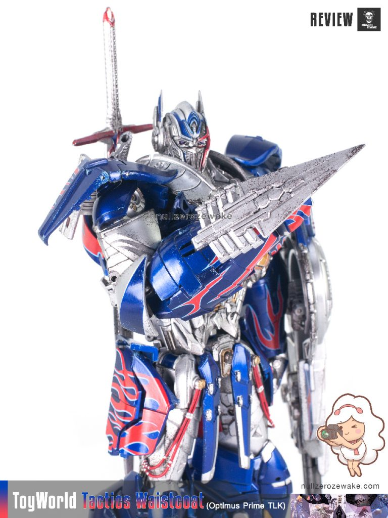 ToyWorld OptimusPrime Tactics Waistcoat TW-F01 review image 18