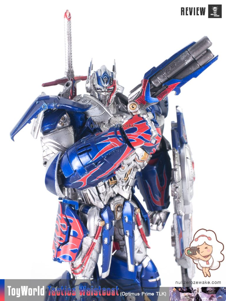 ToyWorld OptimusPrime Tactics Waistcoat TW-F01 review image 19