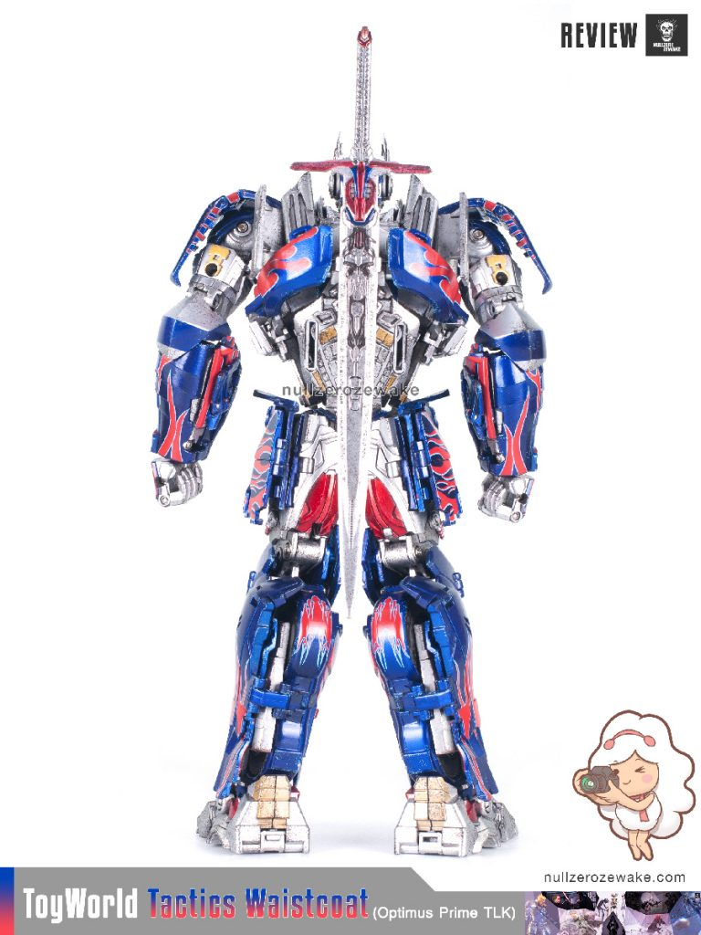 ToyWorld OptimusPrime Tactics Waistcoat TW-F01 review image 20