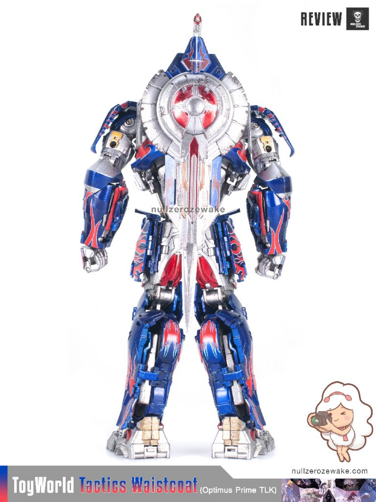 ToyWorld OptimusPrime Tactics Waistcoat TW-F01 review image 21