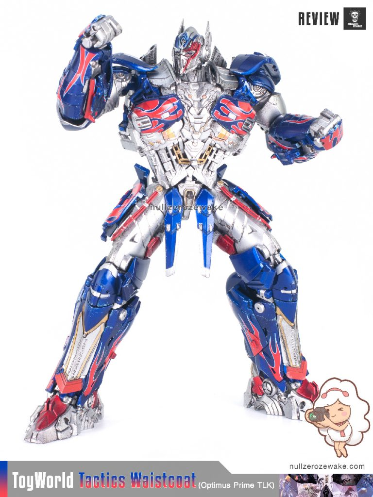 ToyWorld OptimusPrime Tactics Waistcoat TW-F01 review image 23