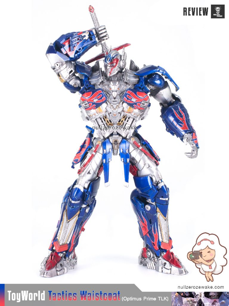 ToyWorld OptimusPrime Tactics Waistcoat TW-F01 review image 24