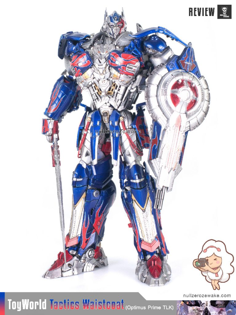 ToyWorld OptimusPrime Tactics Waistcoat TW-F01 review image 27