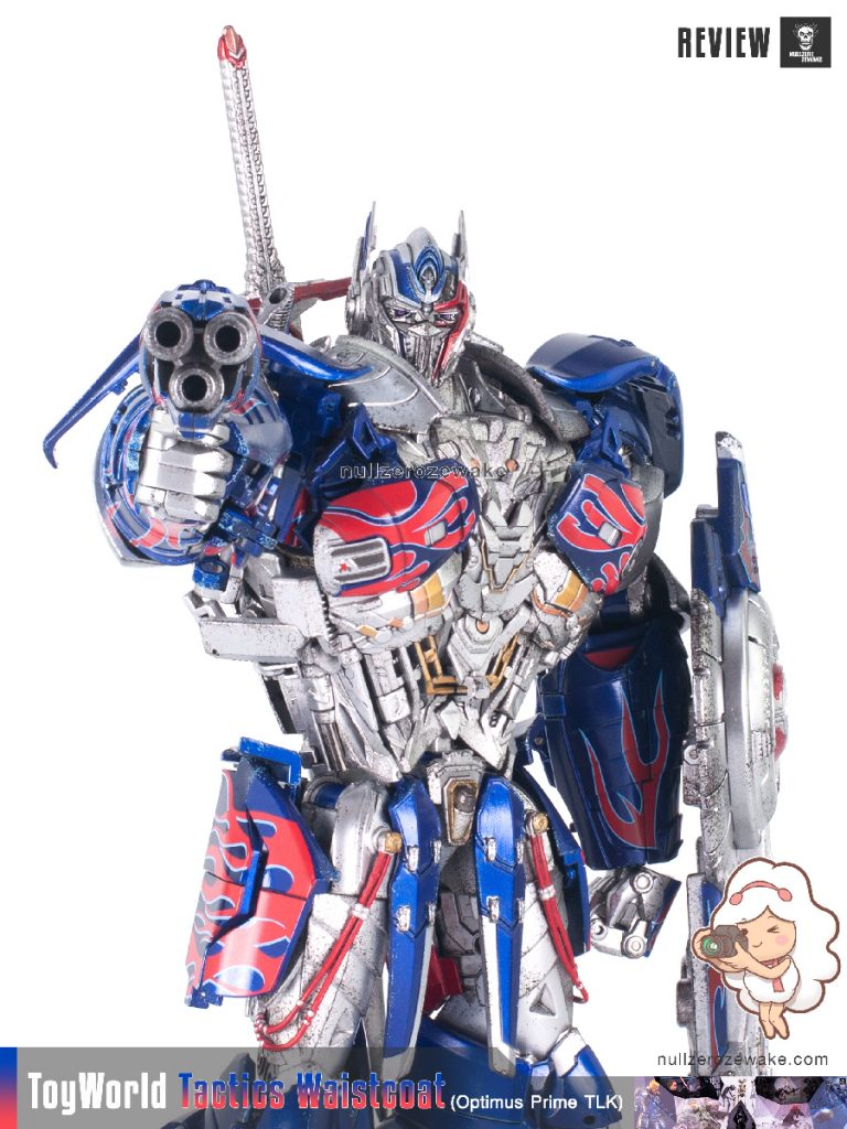 ToyWorld OptimusPrime Tactics Waistcoat TW-F01 review image 32