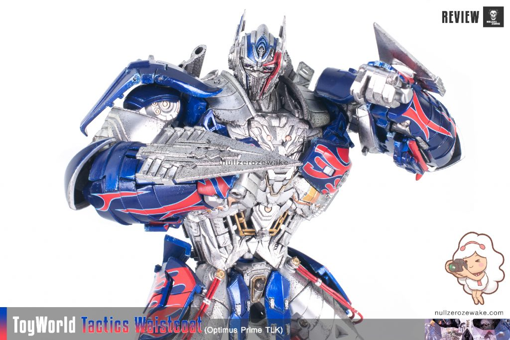 ToyWorld OptimusPrime Tactics Waistcoat TW-F01 review image 34