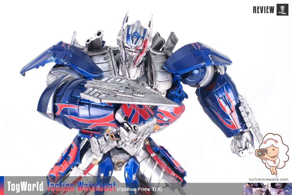 ToyWorld OptimusPrime Tactics Waistcoat TW-F01 review image 35