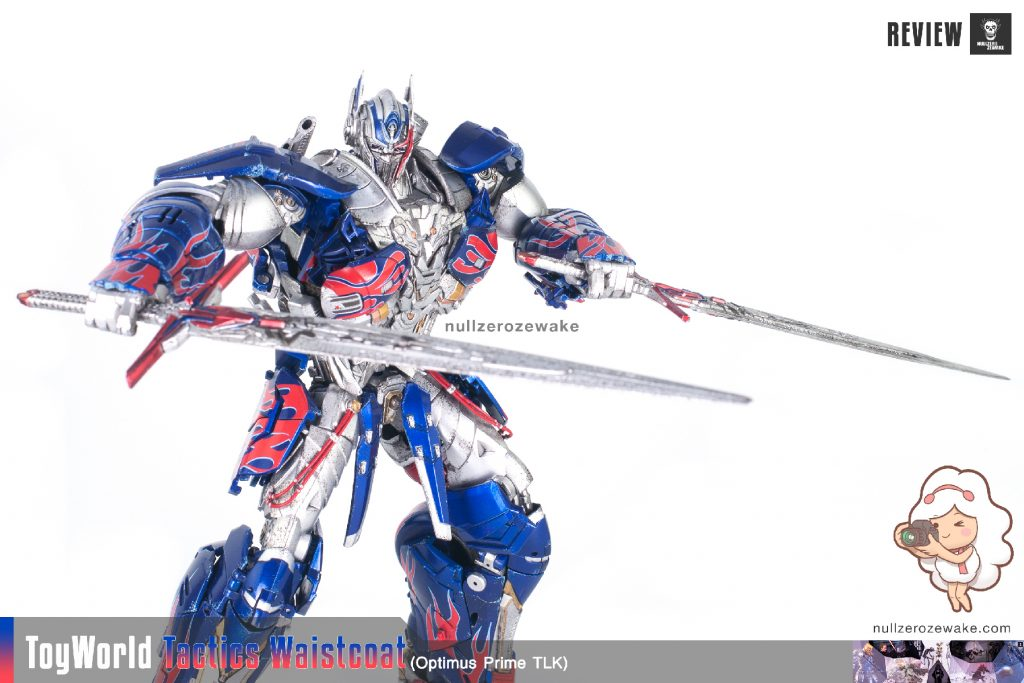 ToyWorld OptimusPrime Tactics Waistcoat TW-F01 review image 37