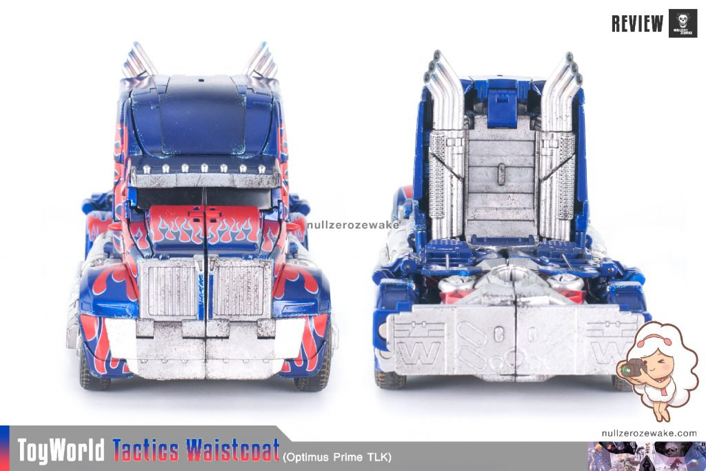 ToyWorld OptimusPrime Tactics Waistcoat TW-F01 review image 39