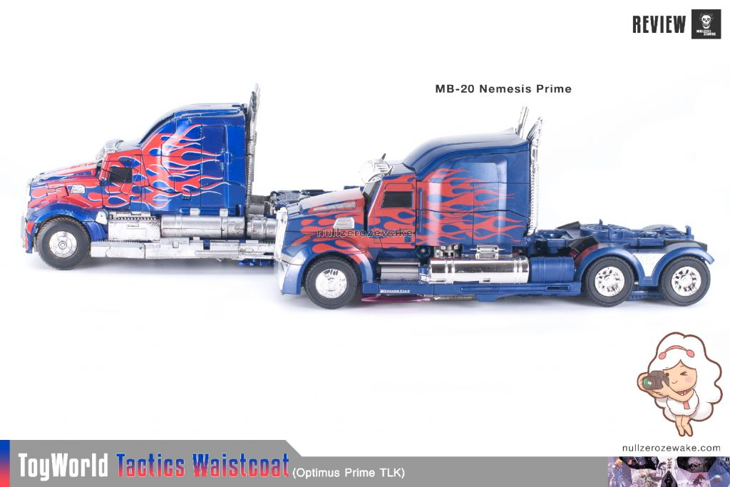 ToyWorld OptimusPrime Tactics Waistcoat TW-F01 review image 48