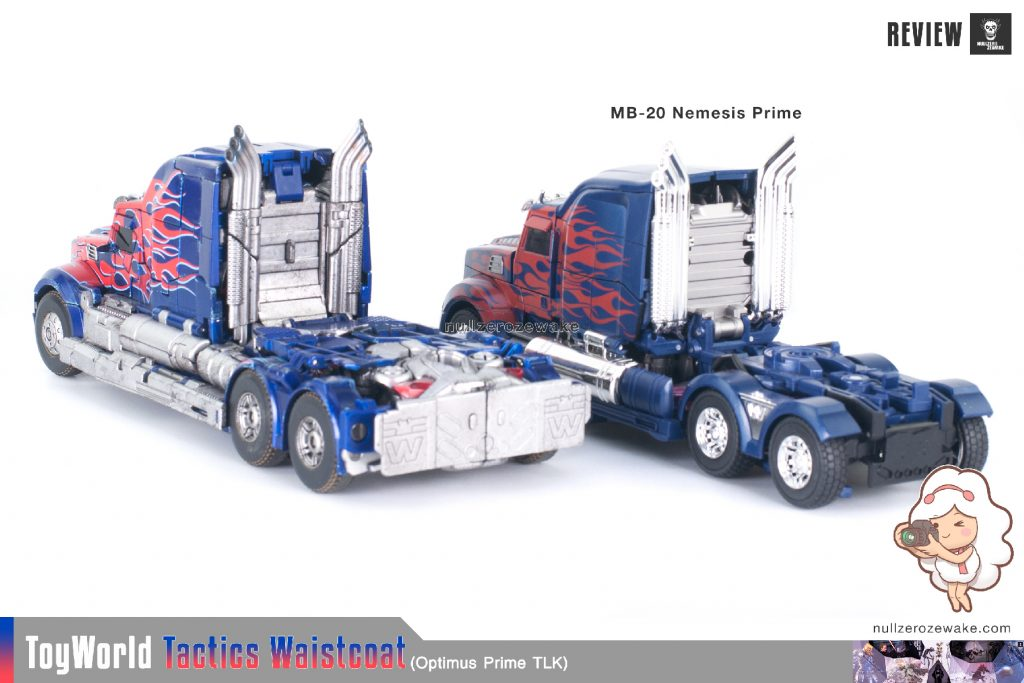 ToyWorld OptimusPrime Tactics Waistcoat TW-F01 review image 49